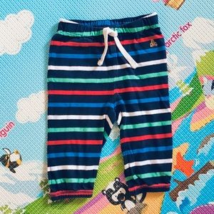 🆕 4/$20 Baby Gap | navy striped sweatpants 6-12M
